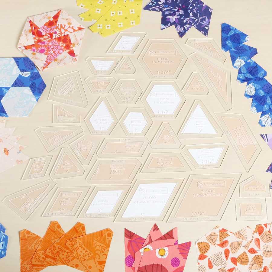 The New Hexagon Paper Piecing Bundle