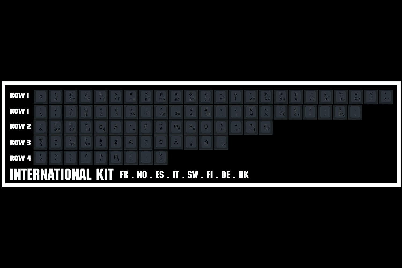 Elemento PBT DCS Keycap Set
