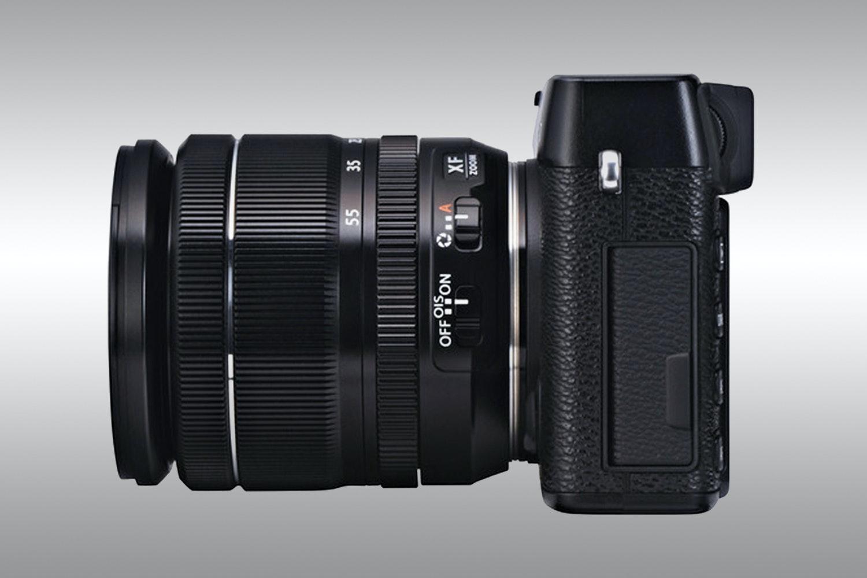 Fujifilm X-E1 Mirrorless Digital Camera with 18-55mm Lens Kit (Black)