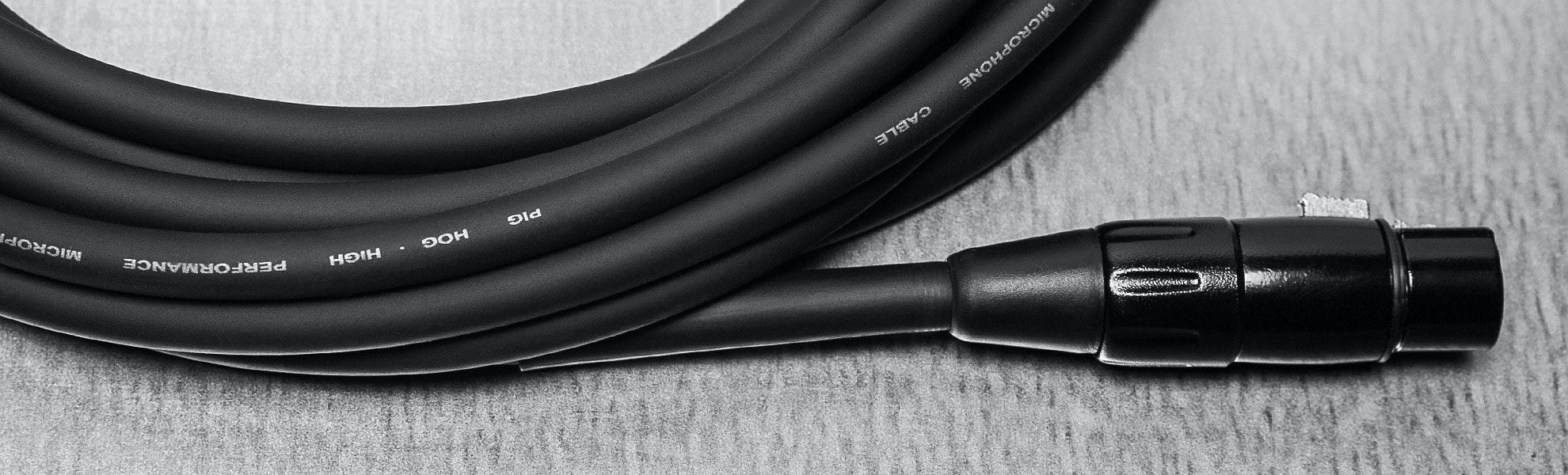 Pig Hog XLR Microphone Cables