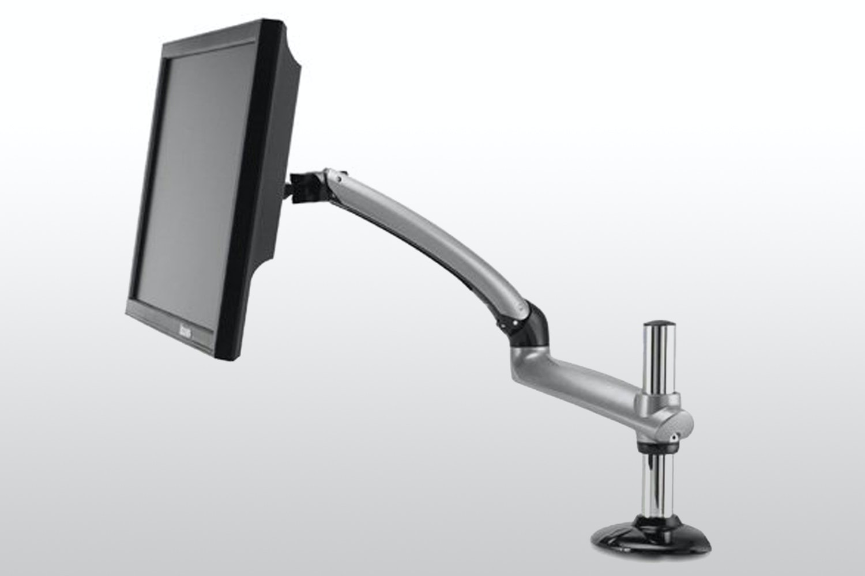 Freedom Arm Desk Mount - Silver
