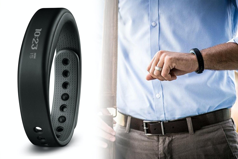 Garmin Vivosmart + Heart Rate Monitor