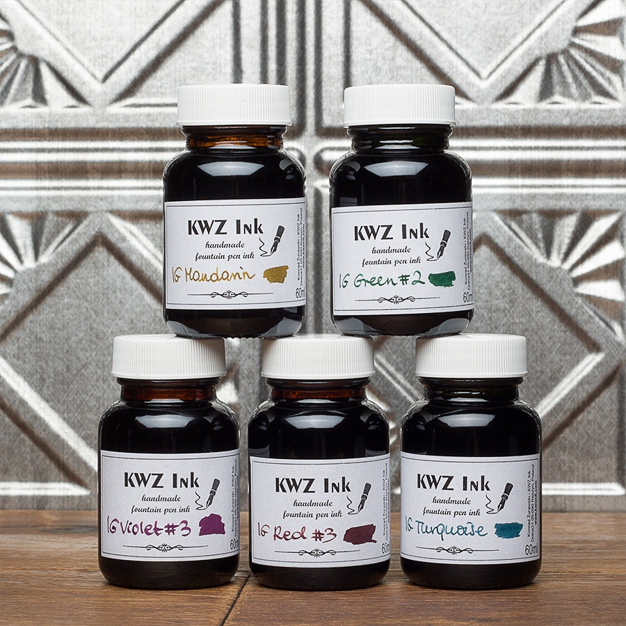 KWZ Iron Gall Ink (3-Pack)