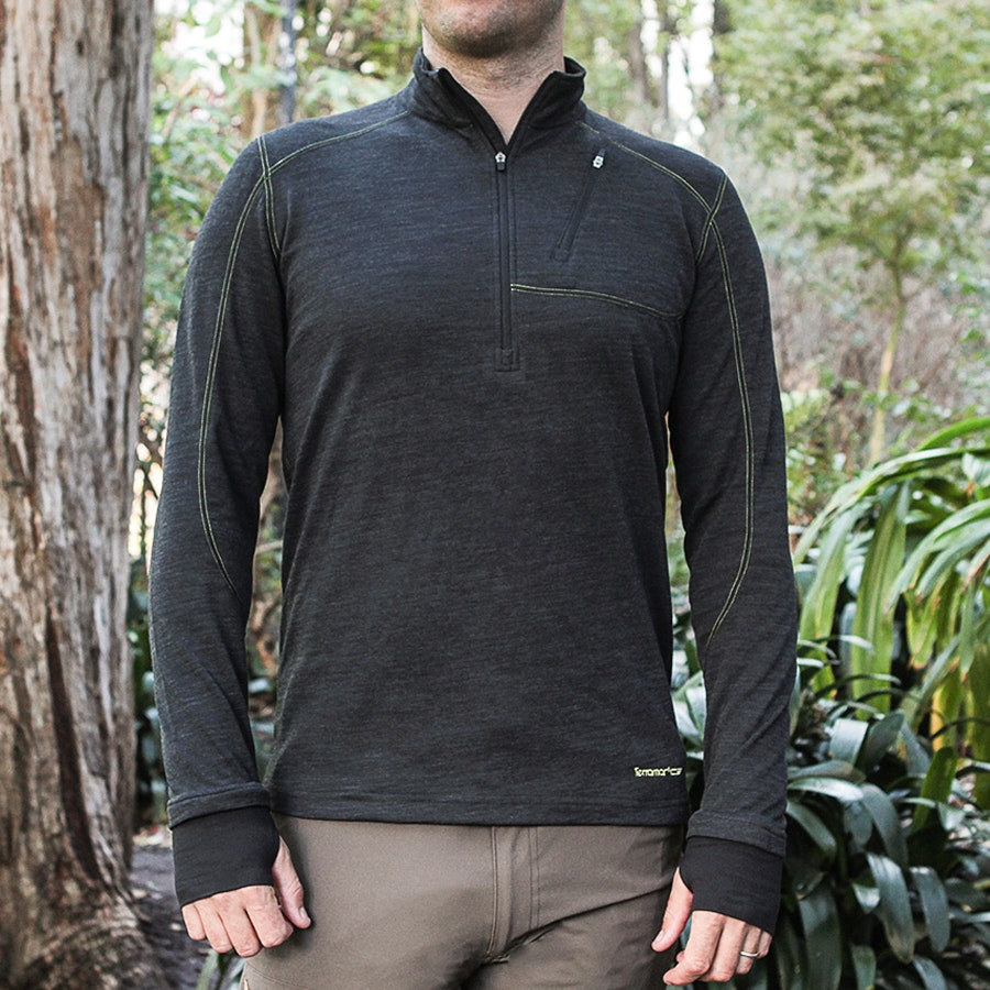 Terramar Men's Thermawool Half-Zip
