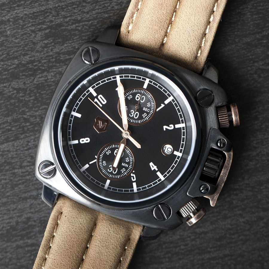 Andrew Marc Heritage Cargo Watch