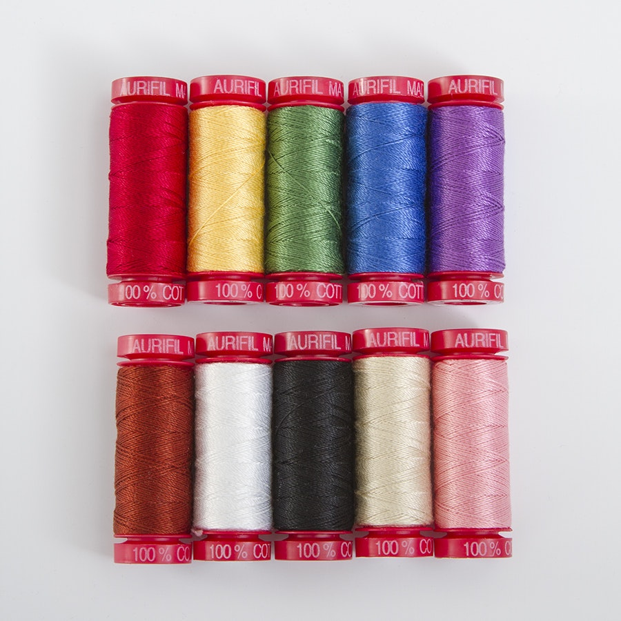 Aurifil 12wt Thread Assortment
