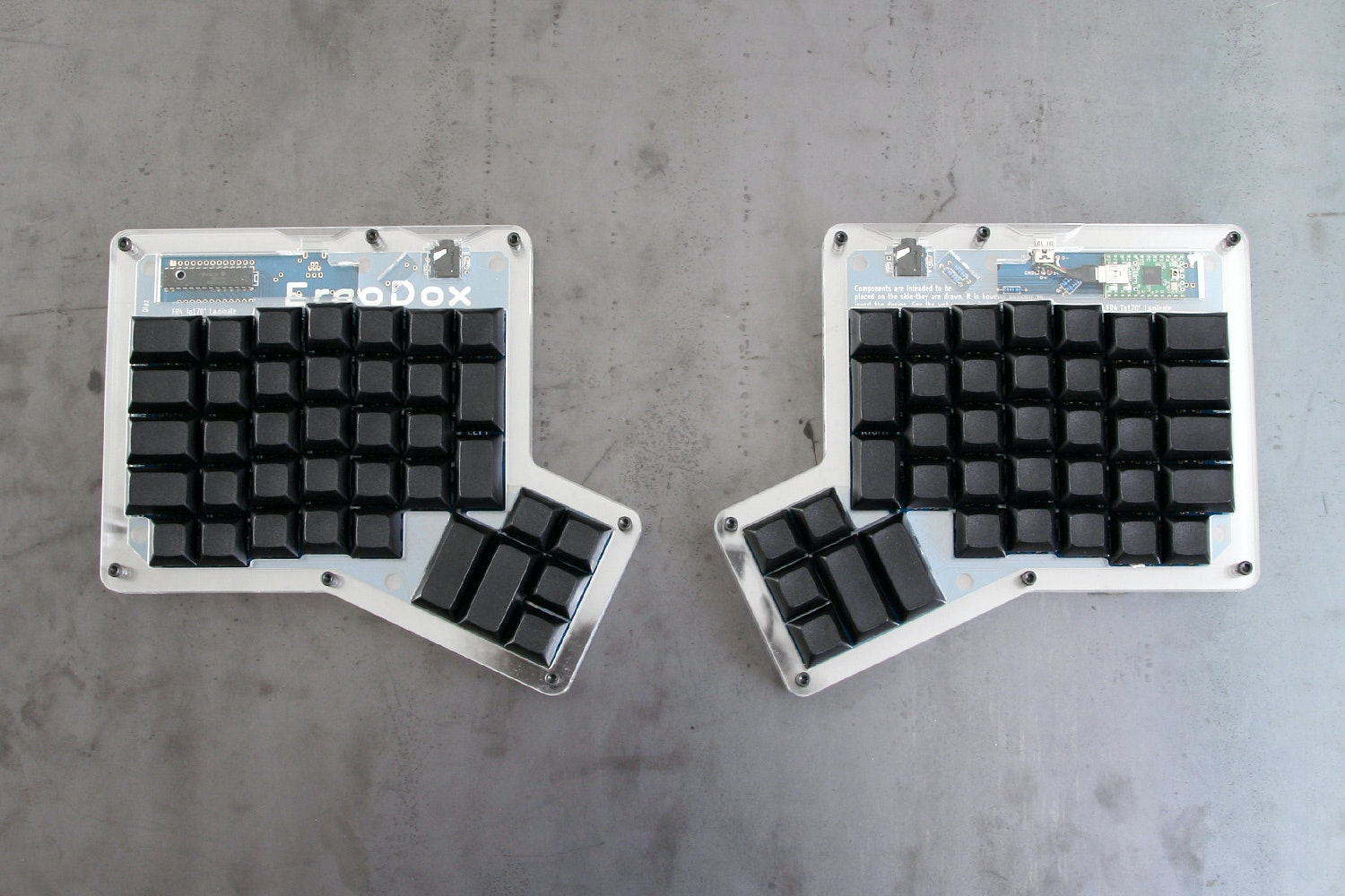 ErgoDox Ergonomic Mechanical Keyboard Kit