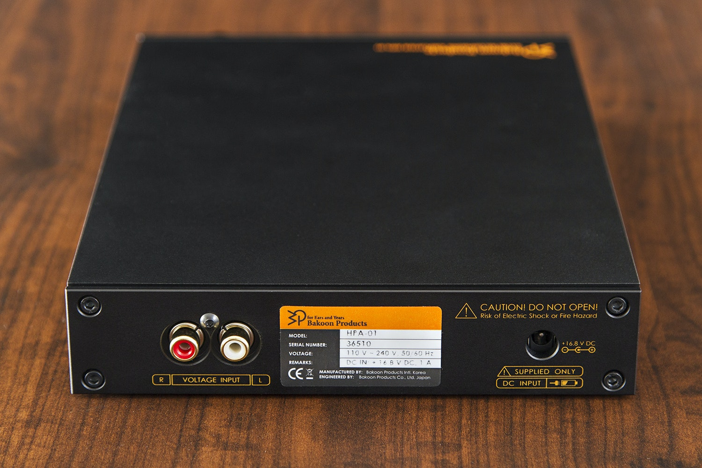 Bakoon HPA-01 Headphone Amplifier