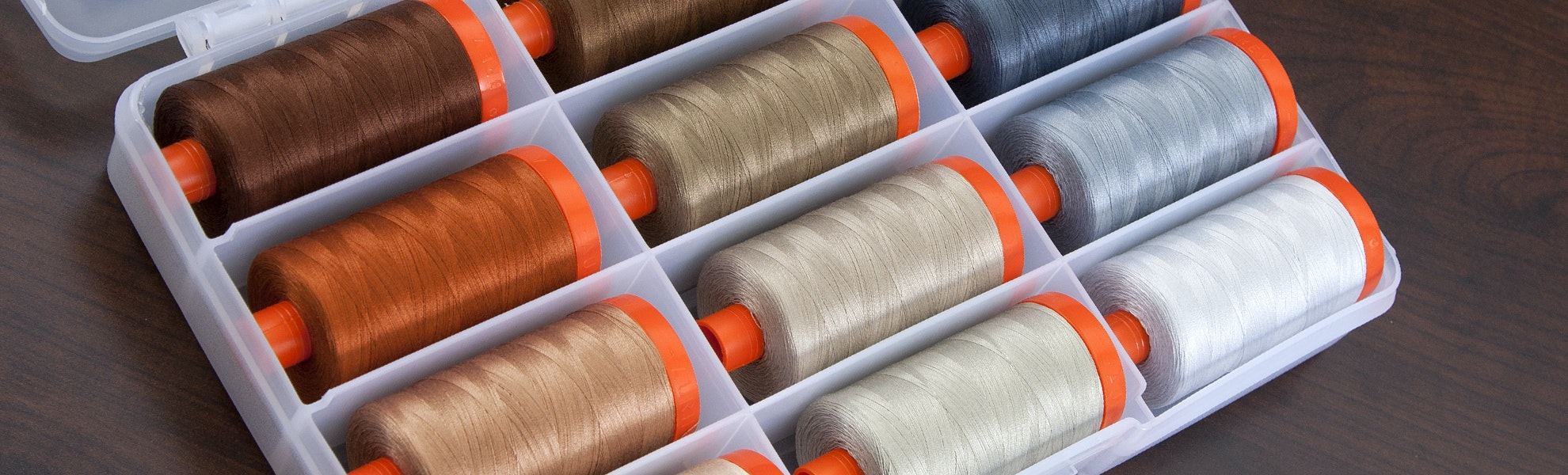 Aurifil Thread Collection Neutrals