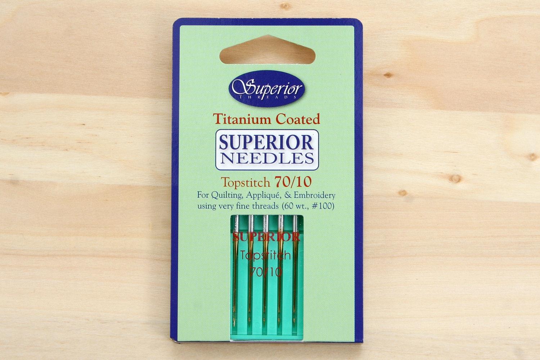 Superior Threads Titanium Needles (4-Pack)