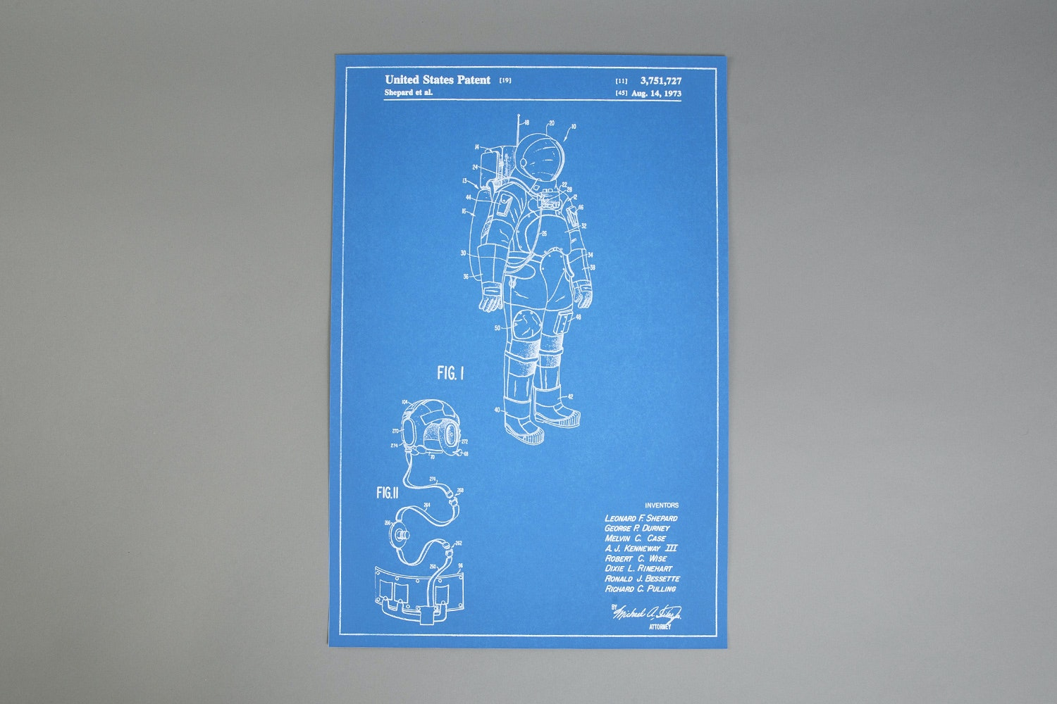 Patent Drawing Prints (2-Pack)