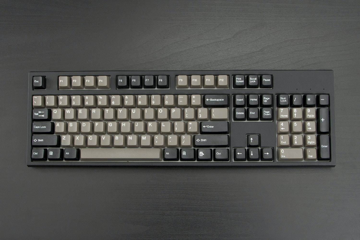 Two Tone Doubleshot ABS Keycaps