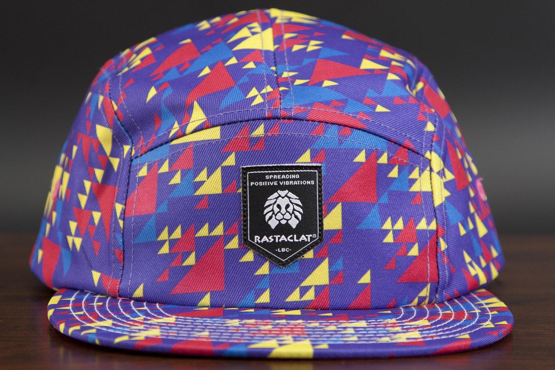 Rastaclat 5 Panel Camper Hat