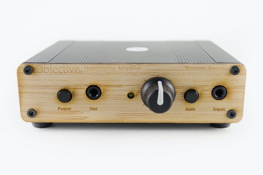 Bamboo Front Panel with 1/8th Inch Output