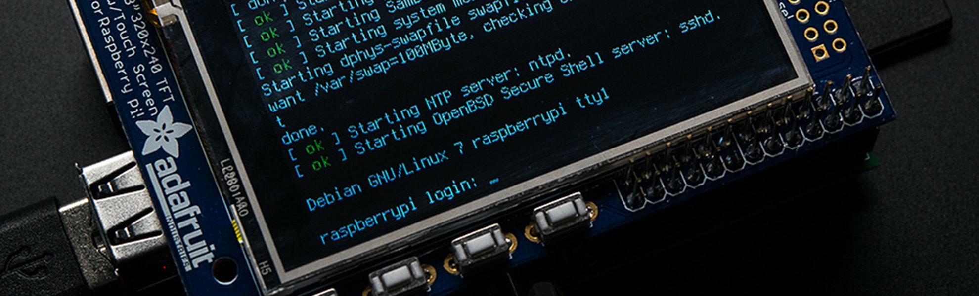 """PiTFT- Assembled 2.8"""" TFT+Touchscreen"""