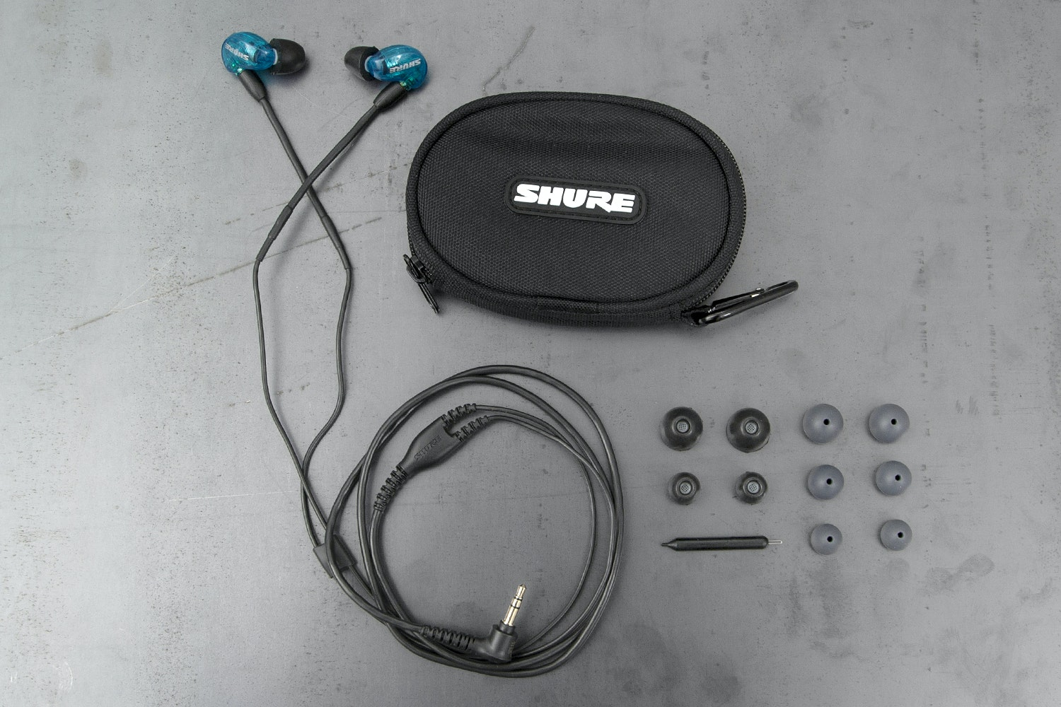 Shure SE215 Blue Earphones LE