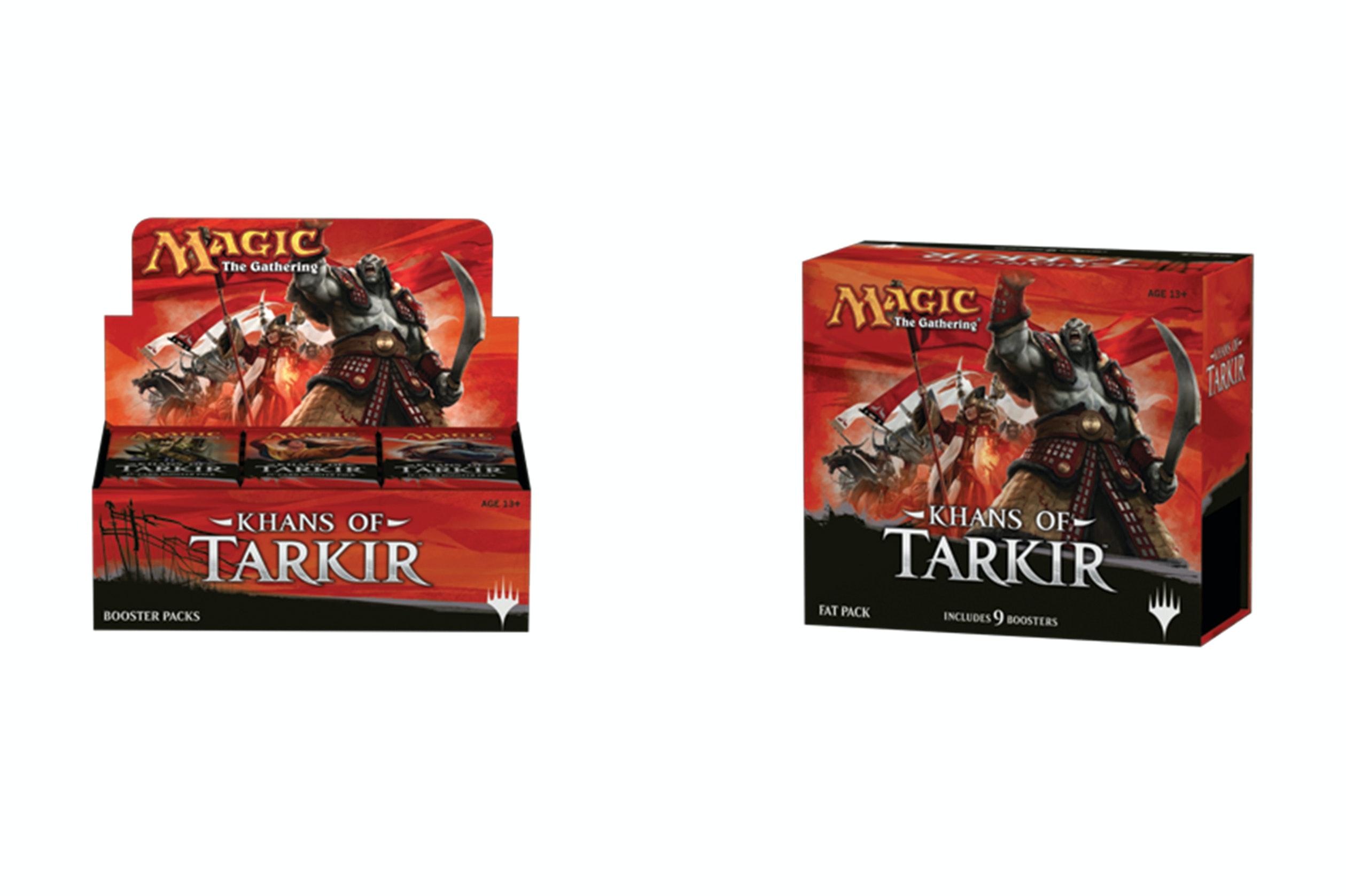 Khans of Tarkir Booster Box Bundle
