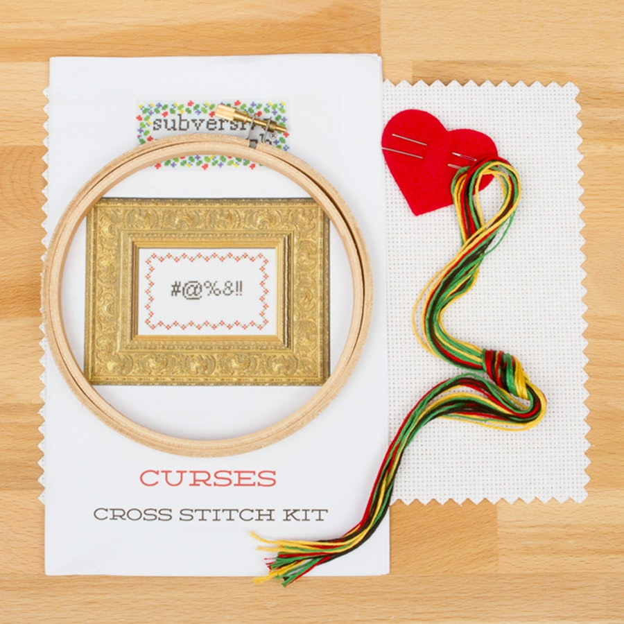 Subversive Cross Stitch Deluxe Kit