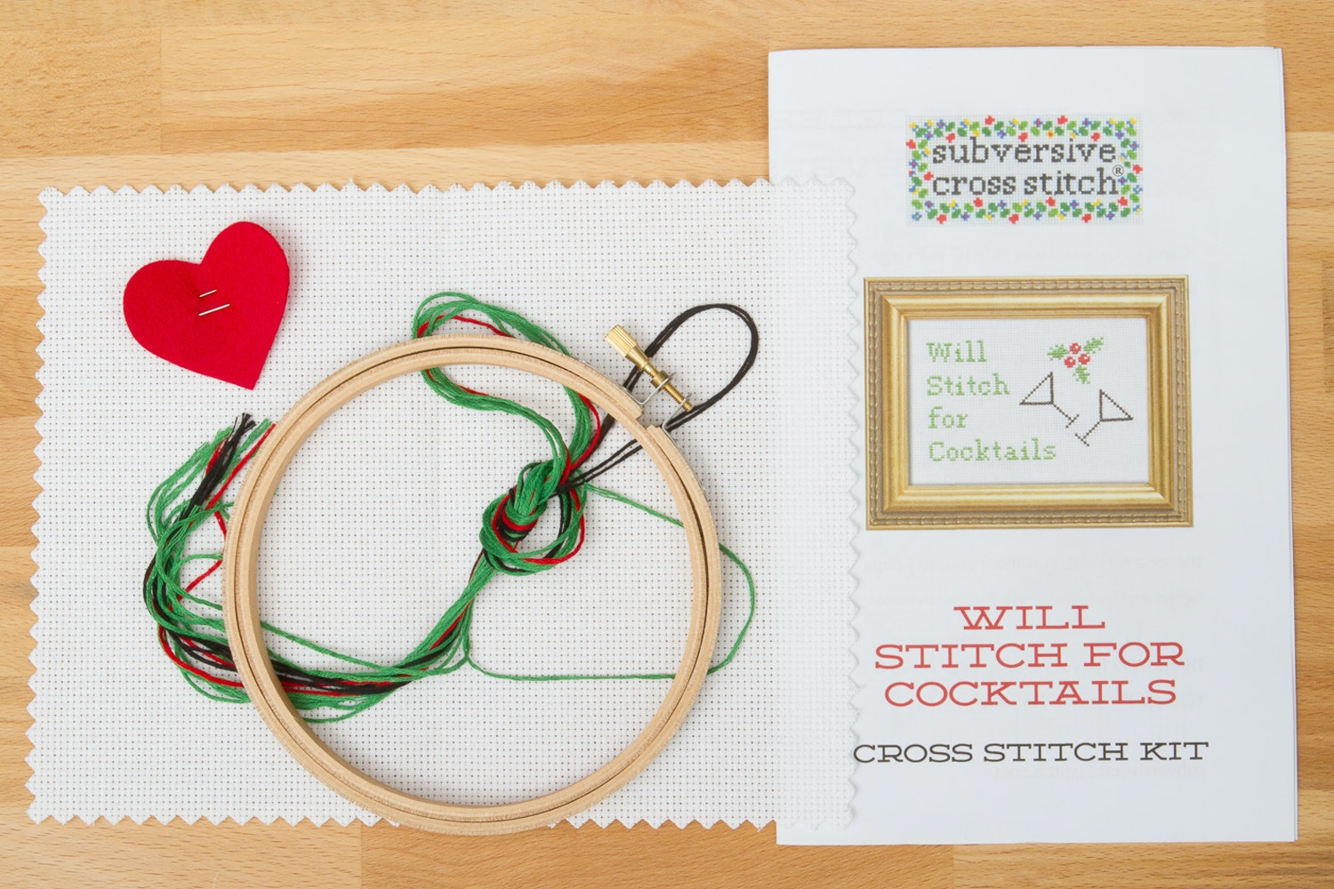 Will Stitch for Cocktails