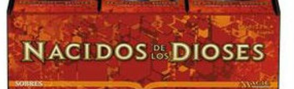Spanish Language Born of the Gods Booster Box
