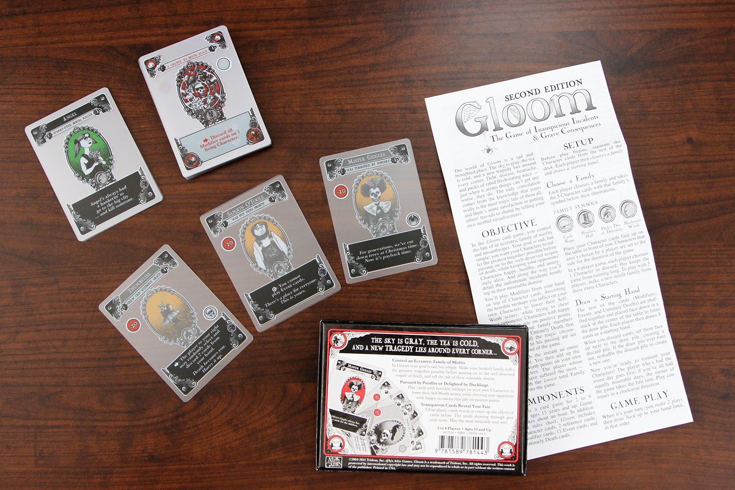 Gloom Card Game 2nd Edition Bundle