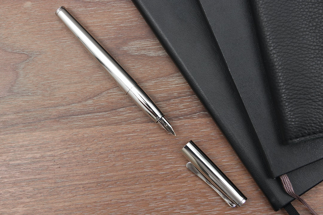 LAMY Studio Shiny Platinum Fountain Pen