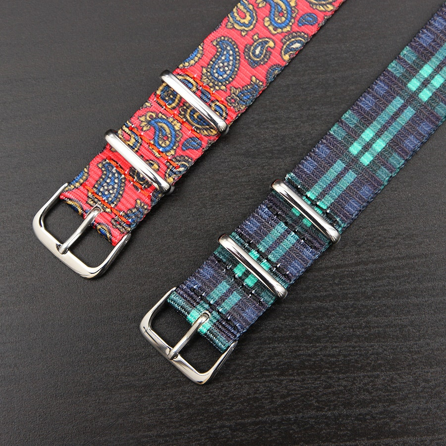 Curated Basics Nato Watch Band (2-pack)