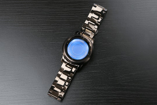 Blue display screen with Blue LCD