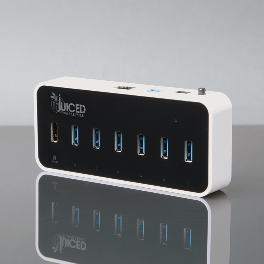 Juiced Systems USB 3.0 6+1+1 Hub