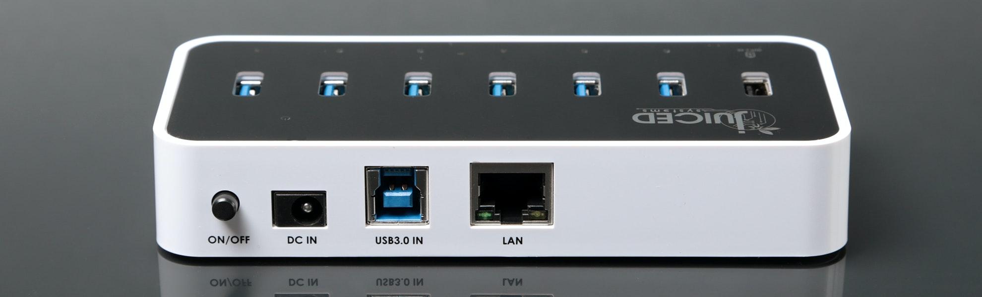 Juiced Systems USB 3.0 6+1+1 Hub