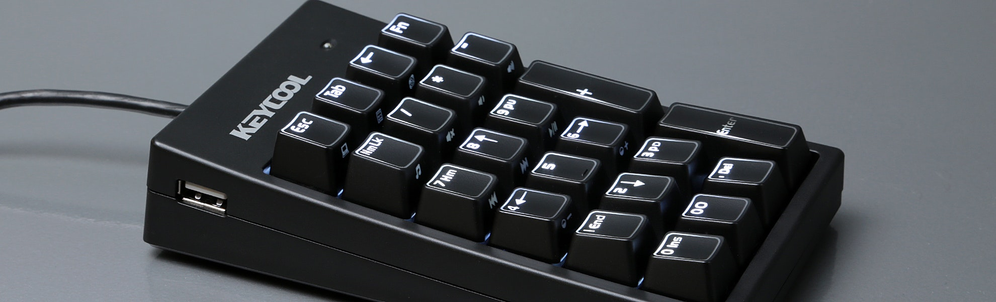 KEYCOOL 22-Key Numeric Mechanical Keypad