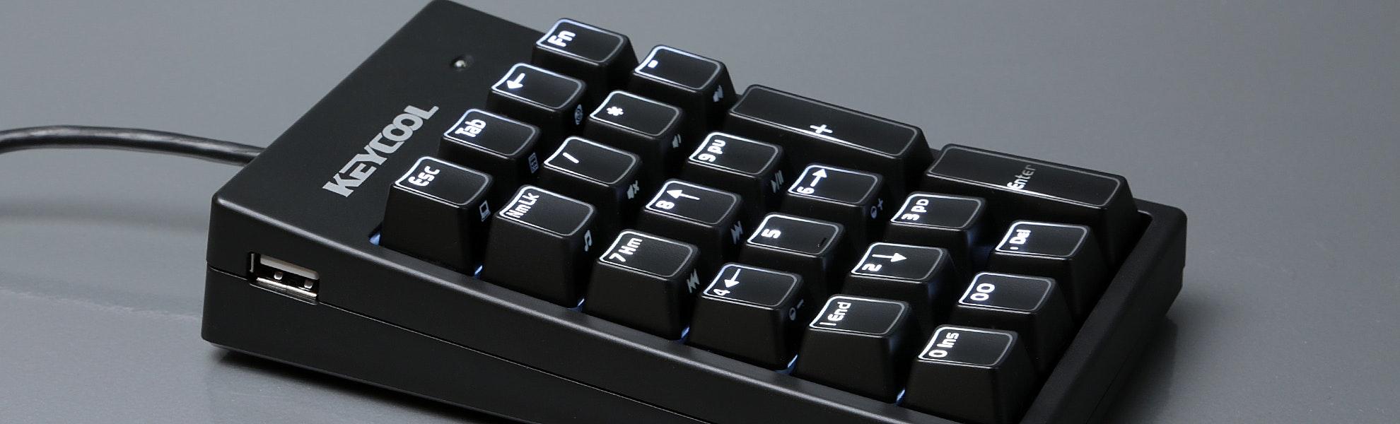 KEYCOOL 22-Key Numeric Mechanical Keypad