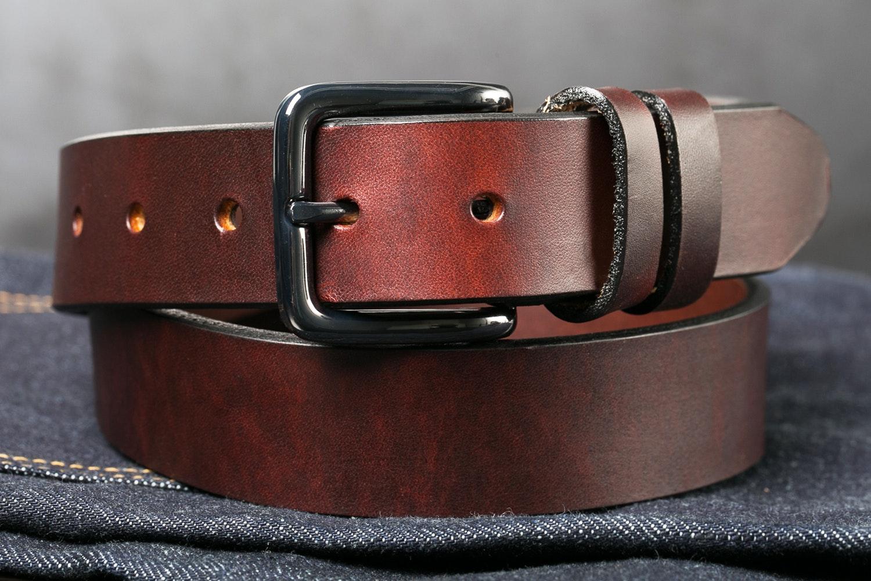 Orion Chestnut Latigo Belt