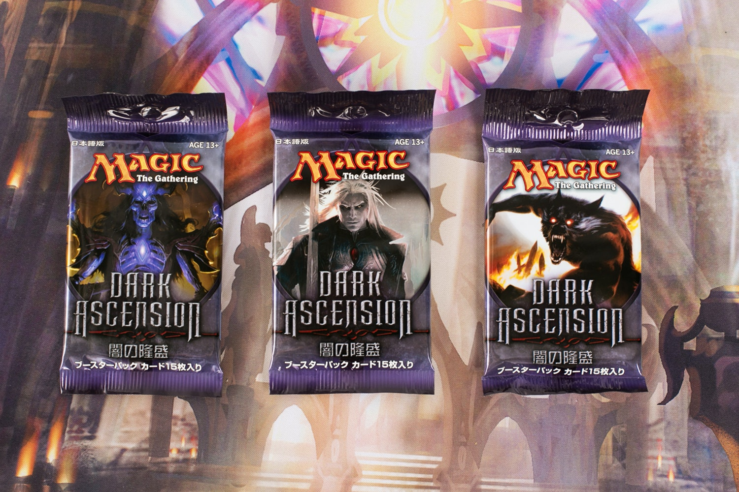 Japanese Dark Ascension Booster Box