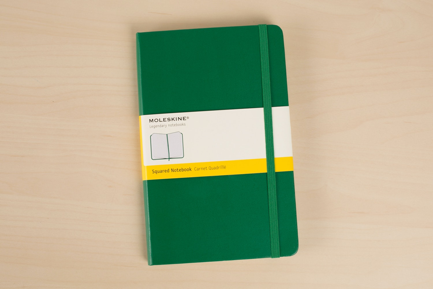 Moleskine Squared Notebook (3-Pack)