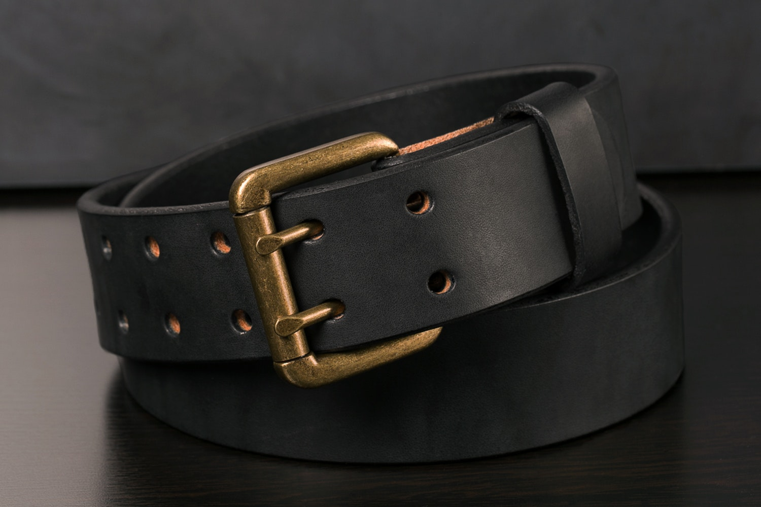 Orion Black Bridle Belt Double Hole