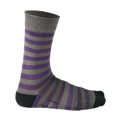 Grey/Purple Stripes