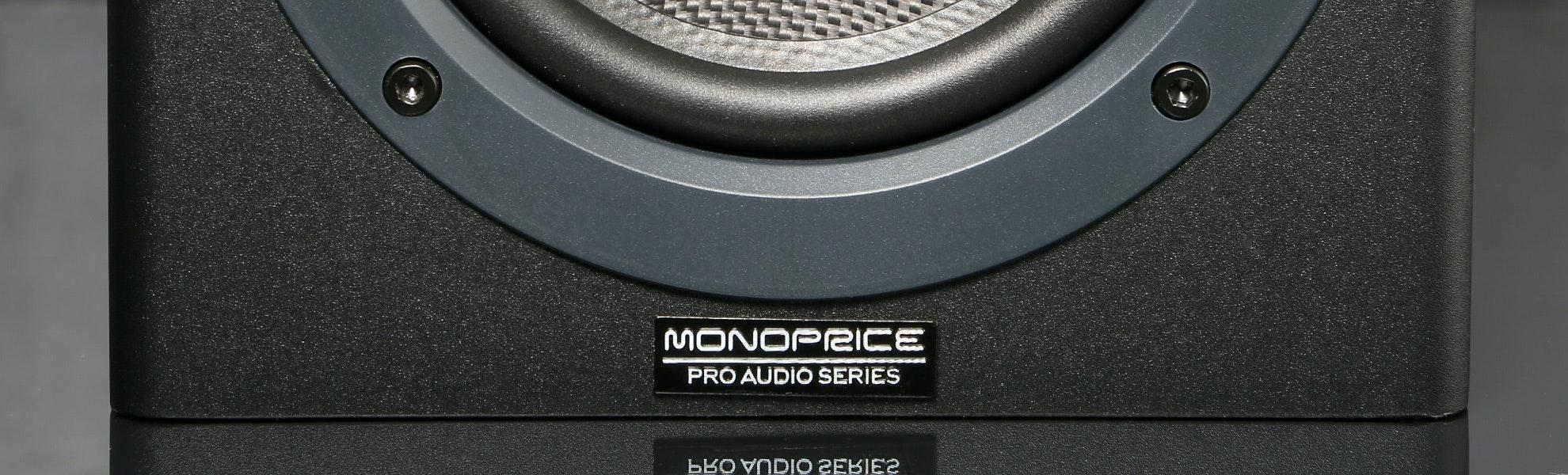 """Monoprice 5"""" Powered Studio Monitors (2-Pack)"""