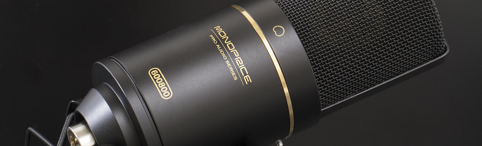 Monoprice Large Diaphragm Studio Microphone
