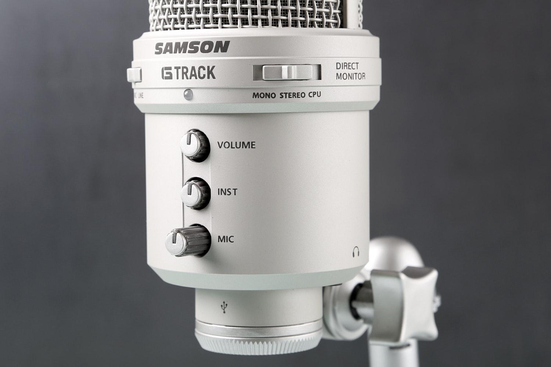 Samson G-Track USB Condenser Microphone