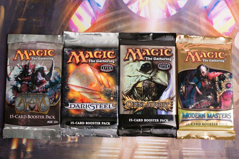 Magic Booster Throwback Pack