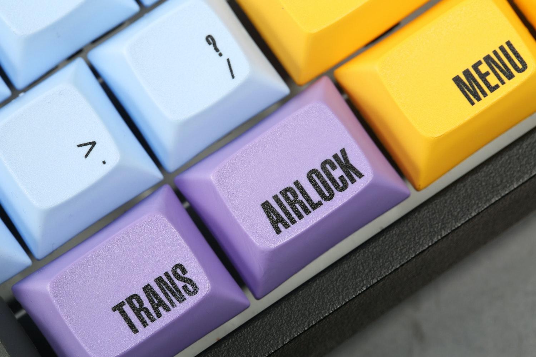 Galaxy Class Keycaps Set