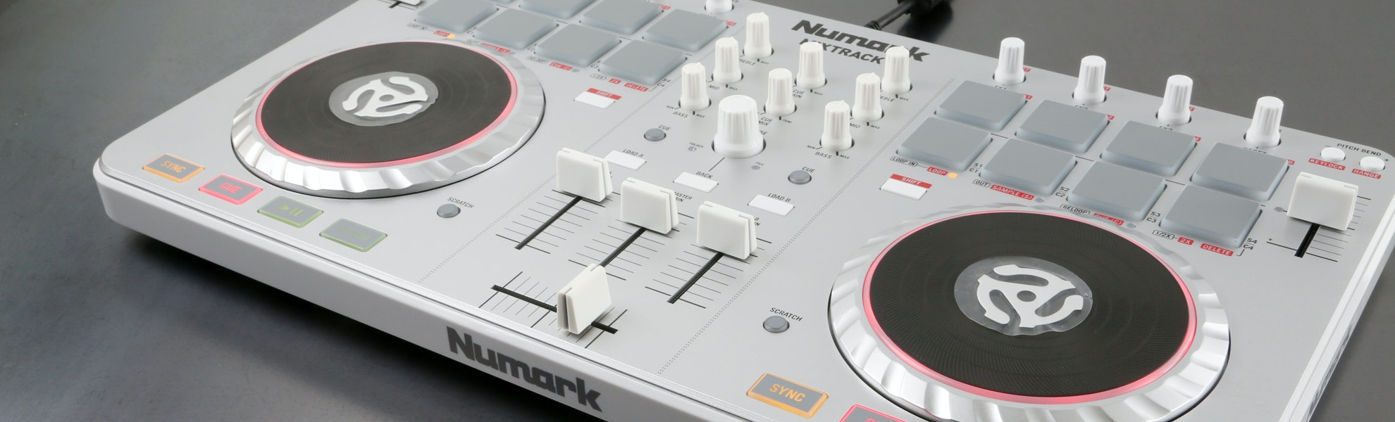 Numark Mixtrack II DJ Software Controller