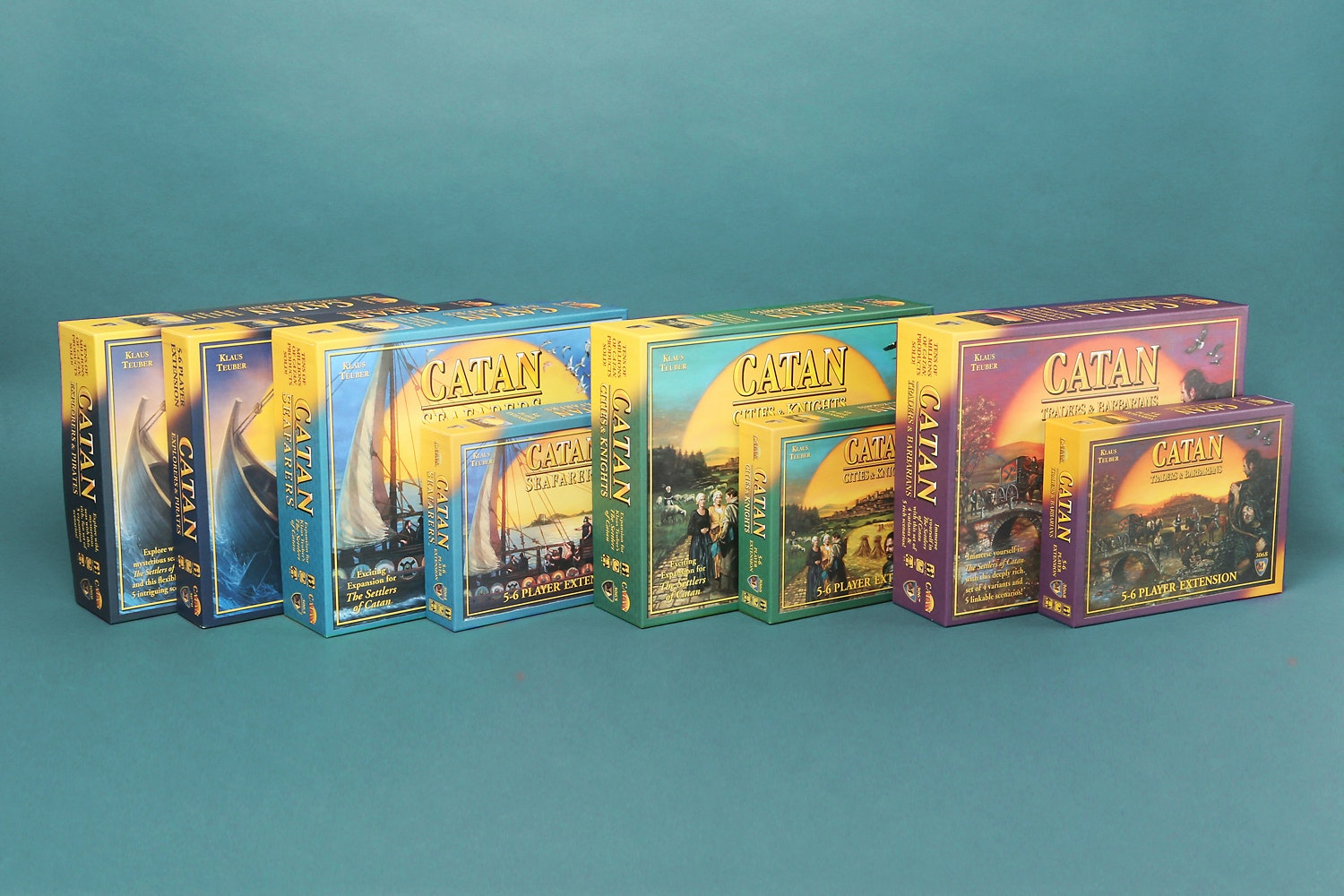 Settlers of Catan Expansion Bundle