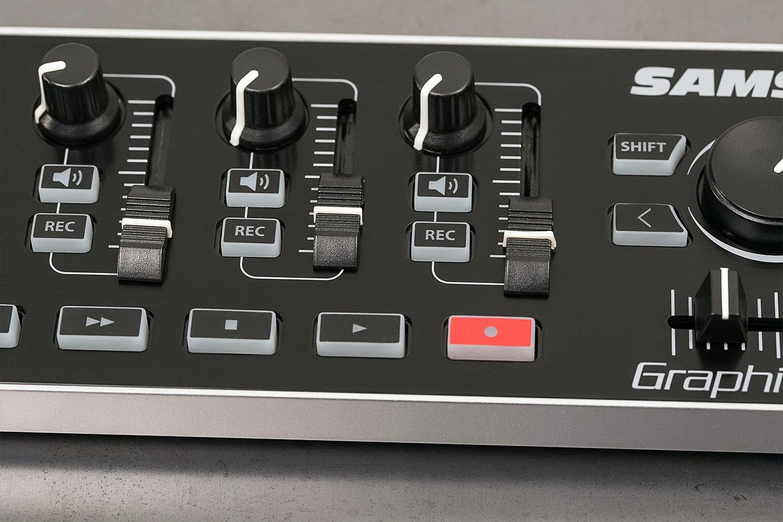 Samson Graphite MF8 MIDI Controller