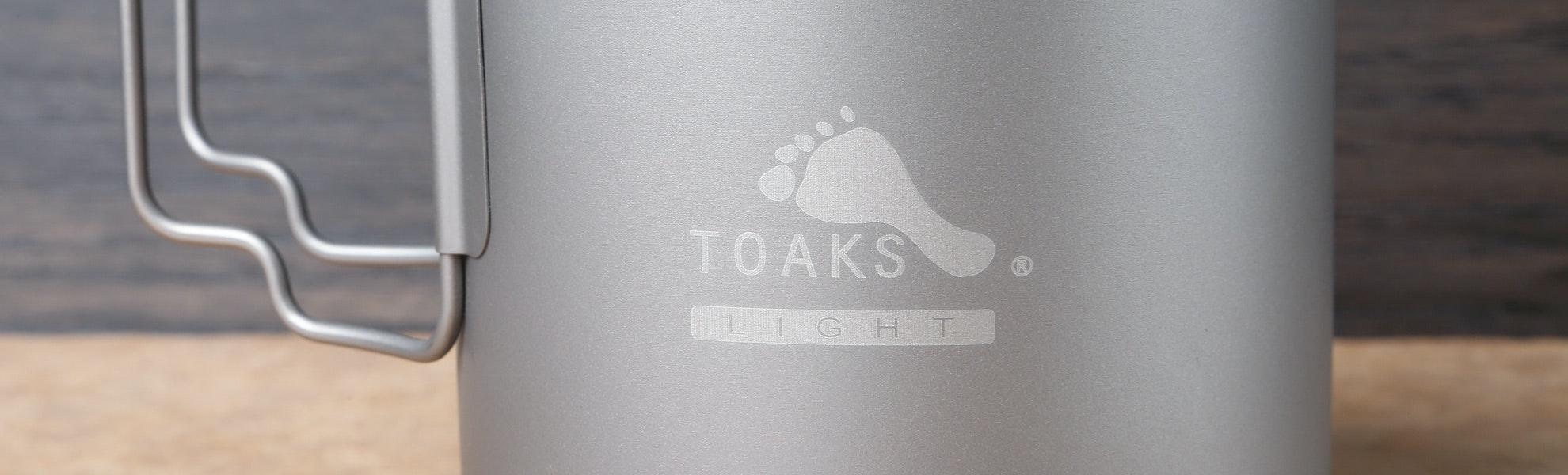 Toaks Light Titanium 650 ml Pot