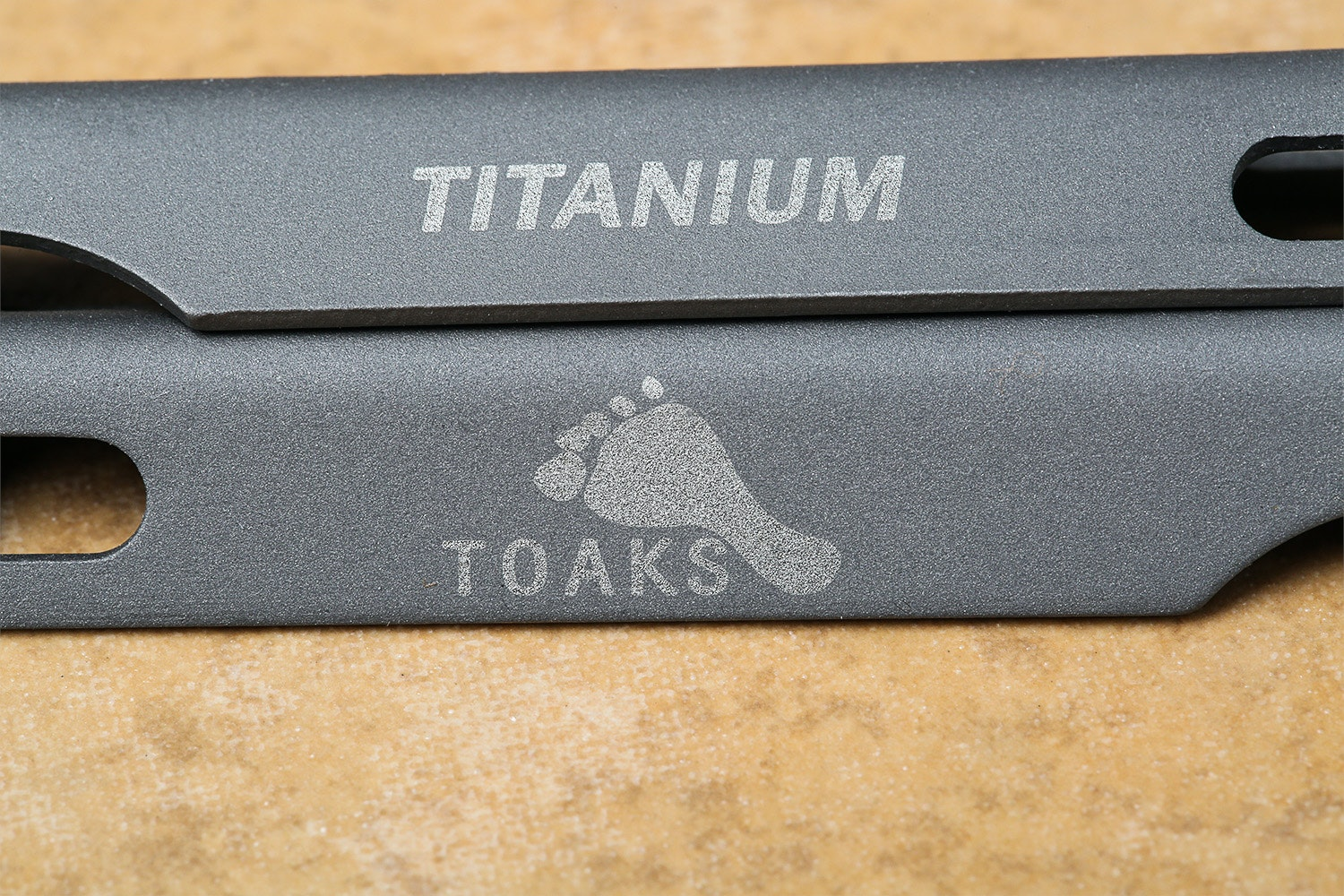 Toaks Titanium V-Shaped Tent Stakes (Pack of 6)