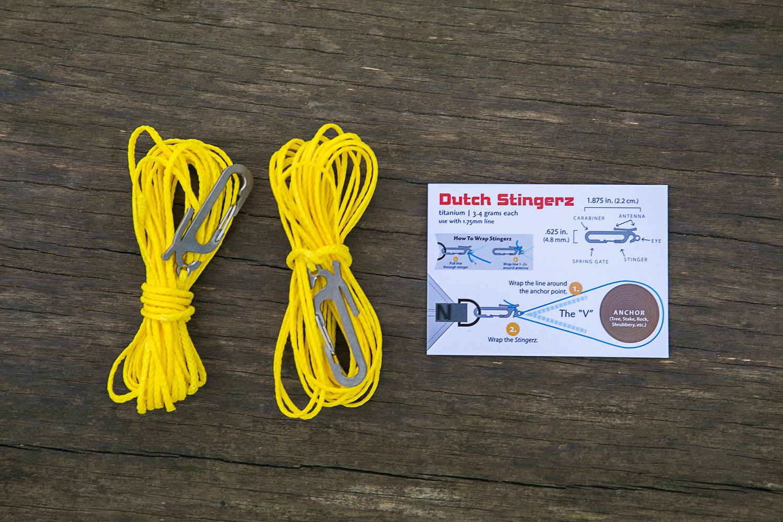 DutchWare Stingerz on 12' Yellow Zing-It (2-Pack)