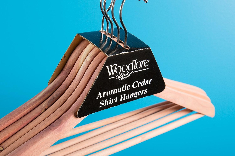Woodlore Basic Cedar Hanger (2x 5-pack)