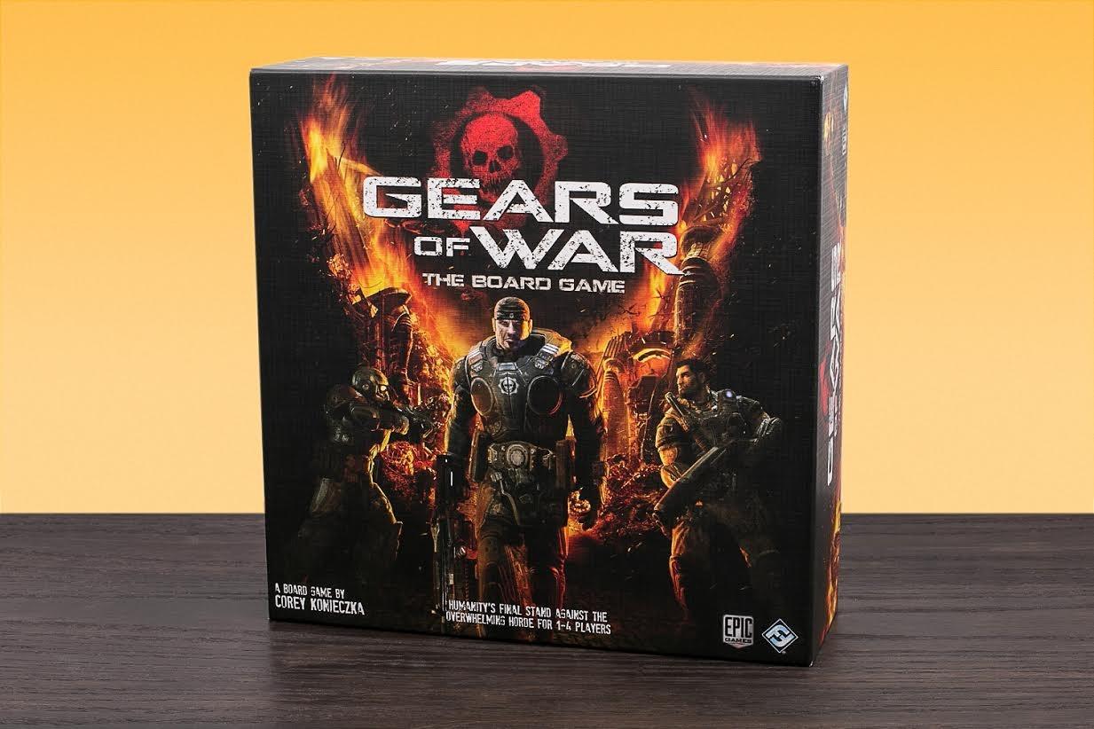 Gears of War Board Game